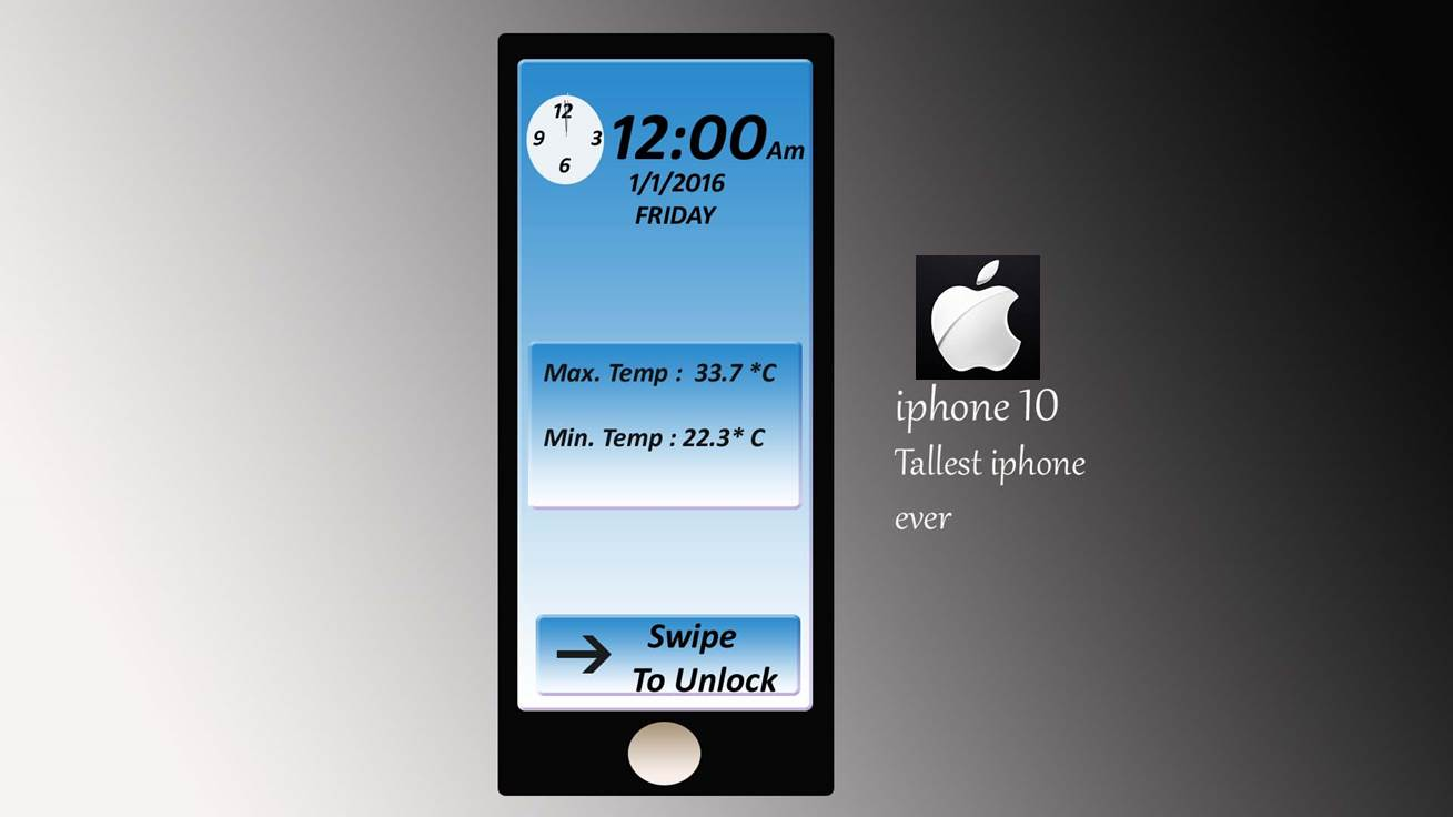 IPhone 10 Tallest Yet